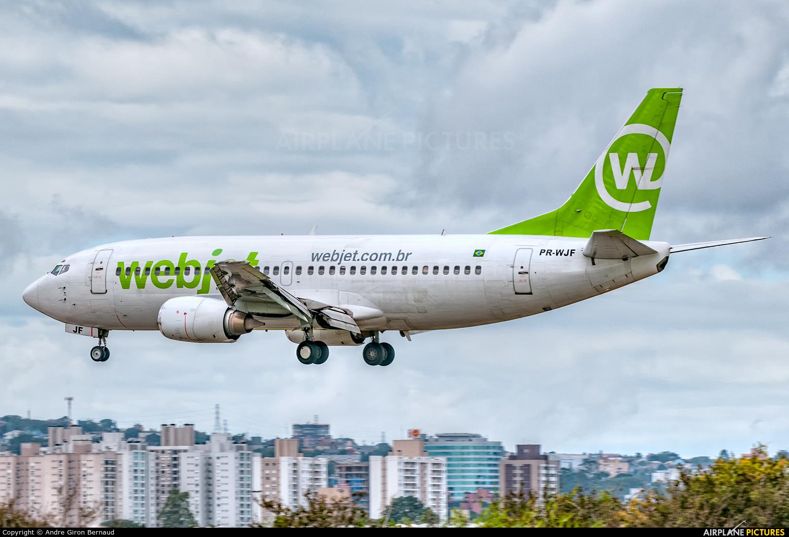 WebJet Linhas Aéreas PR-WJF aircraft at Porto Alegre - Salgado Filho