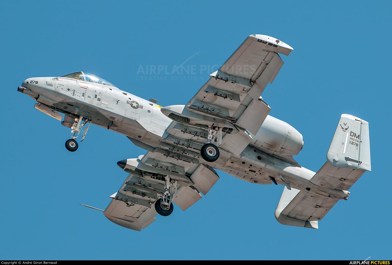 USA - Air Force 80-0278 aircraft at Oshkosh - Wittman Regional