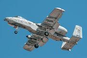 80-0278 - USA - Air Force Fairchild A-10 Thunderbolt II (all models) aircraft