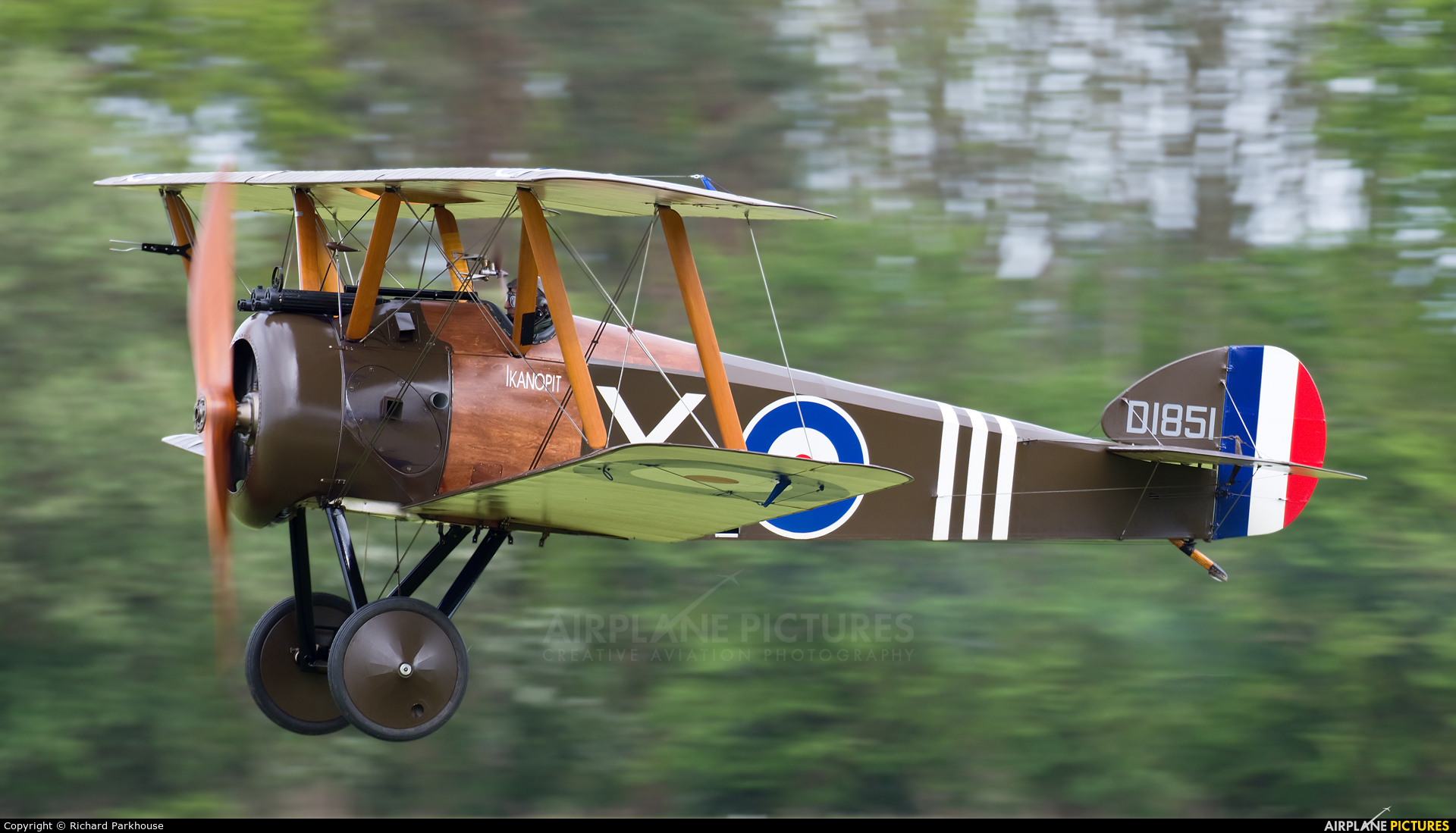The Shuttleworth Collection G-BZSC aircraft at Old Warden
