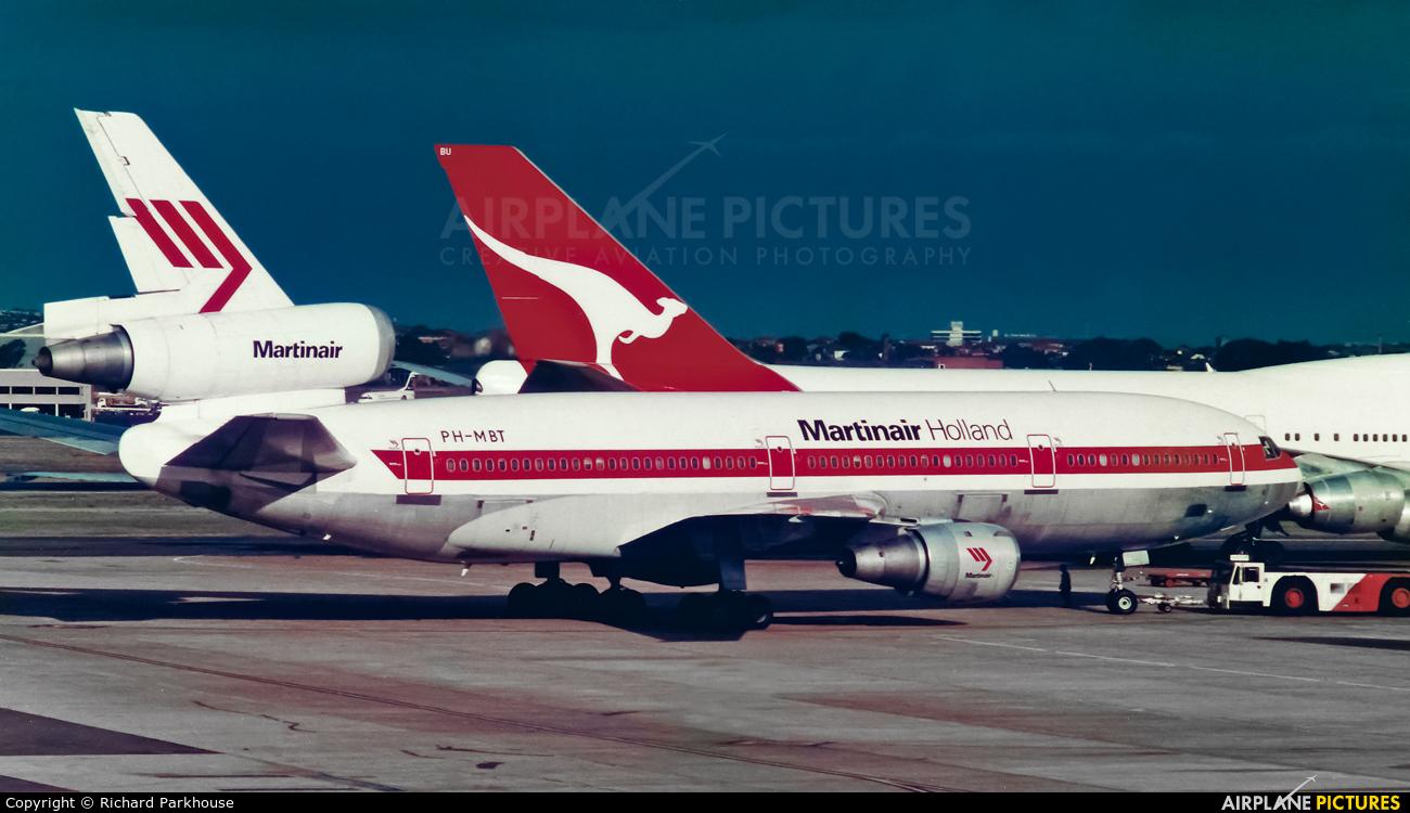 Martinair PH-MBT aircraft at Sydney - Kingsford Smith Intl, NSW