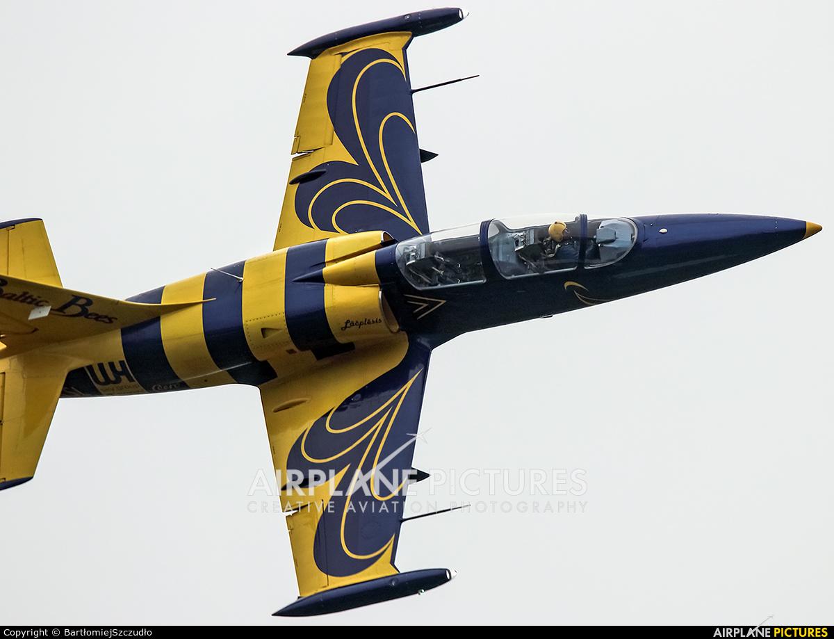 Baltic Bees Jet Team YL-KSL aircraft at Krosno