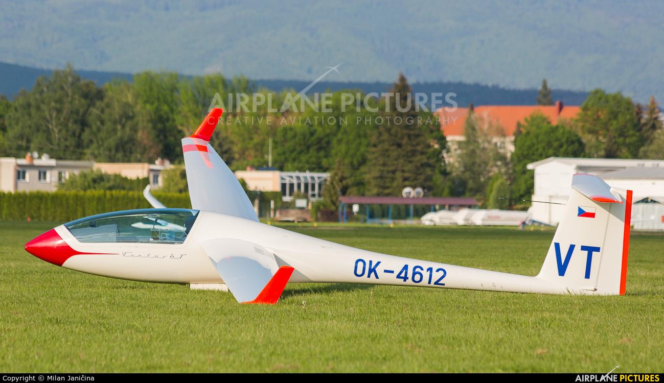 Private OK-4612 aircraft at Prievidza