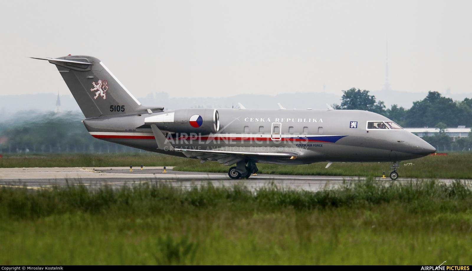 Czech - Air Force 5105 aircraft at Ostrava Mošnov