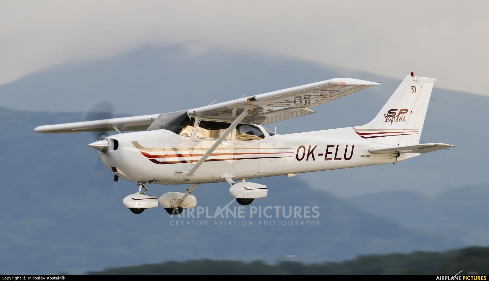 Elmontex Air OK-ELU aircraft at Ostrava Mošnov