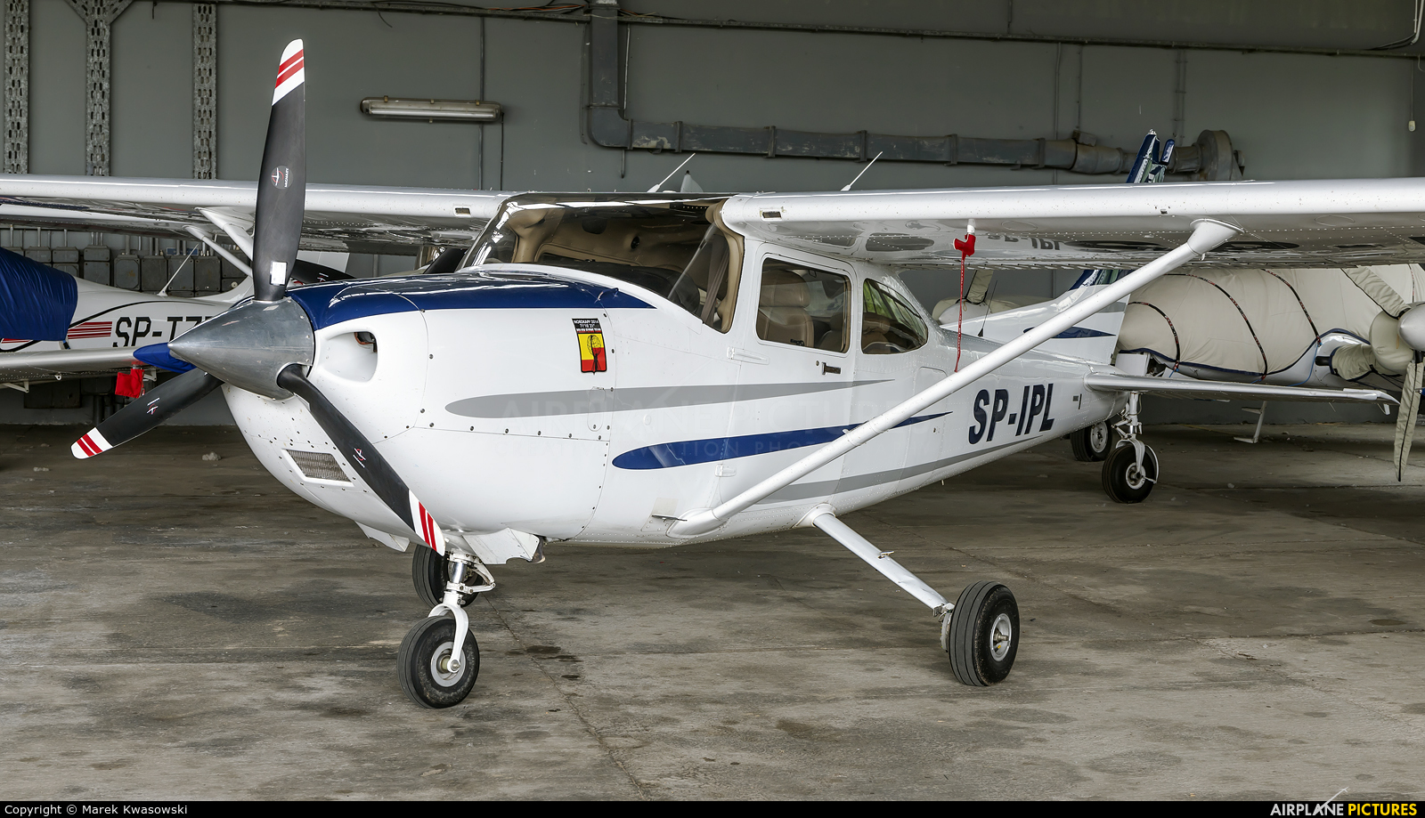 Private SP-IPL aircraft at Warsaw - Babice