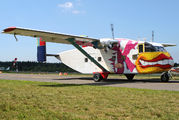 OE-FDK - Pink Aviation Short SC.7 Skyvan aircraft