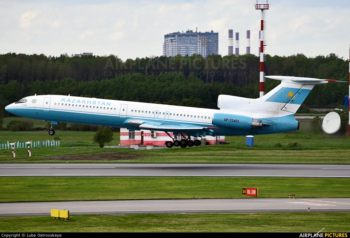 Kazakhstan - Air Force UP-T5401 aircraft at St. Petersburg - Pulkovo