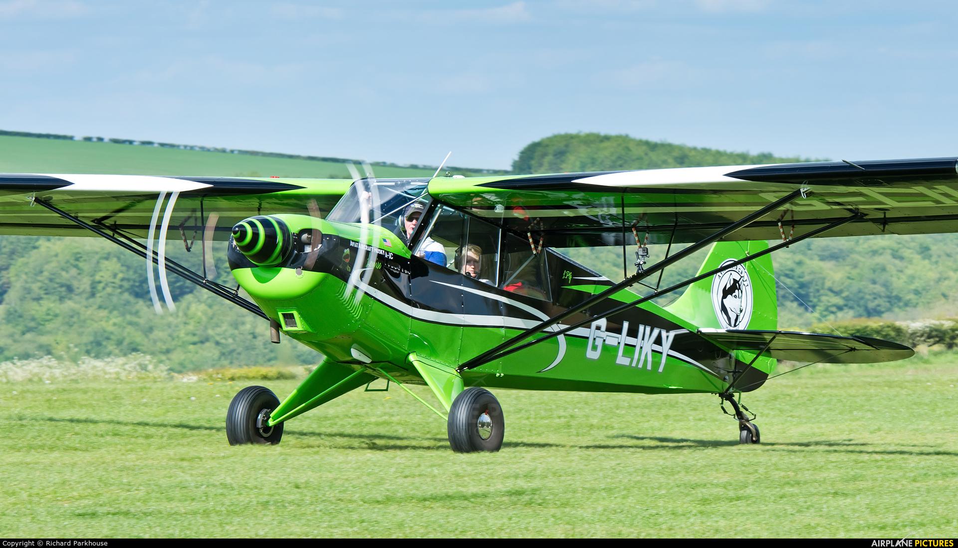 Private G-LIKY aircraft at Compton Abbas