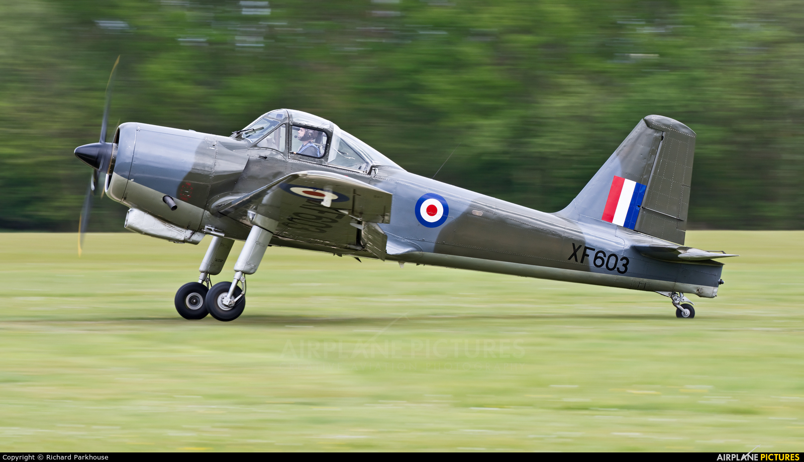 The Shuttleworth Collection G-KAPW aircraft at Old Warden