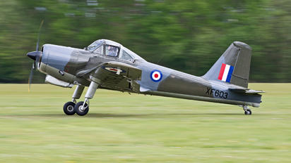 G-KAPW - The Shuttleworth Collection Percival P.56 Provost T.1