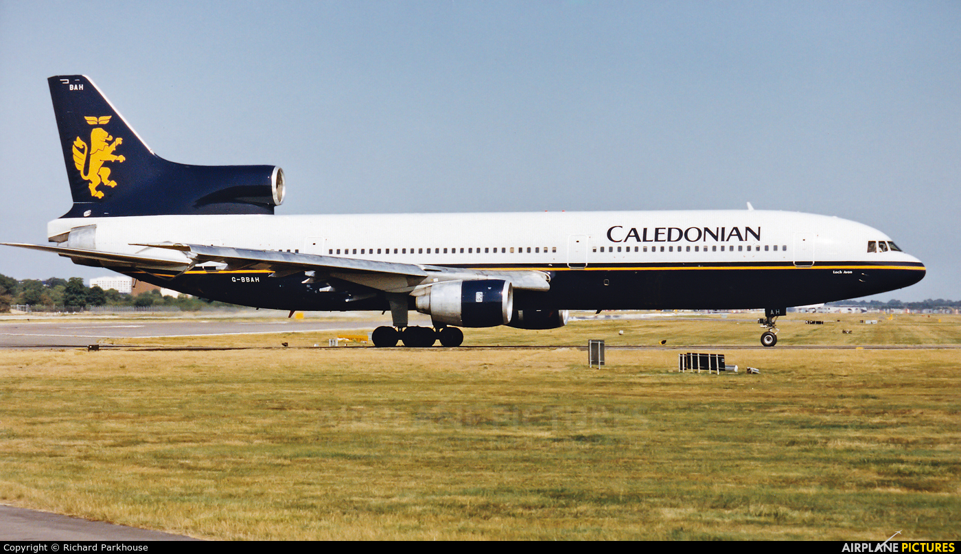 Caledonian Airways G-BBAH aircraft at London - Gatwick