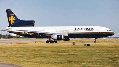 G-BBAH - Caledonian Airways Lockheed L-1011-100 TriStar