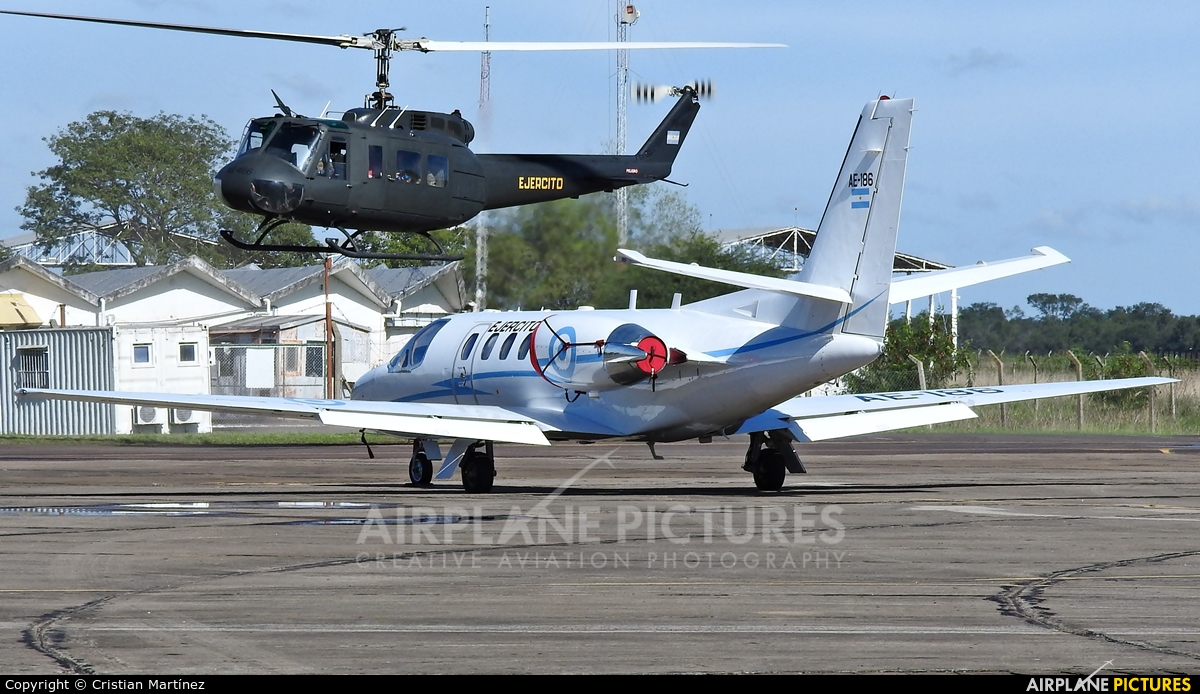 Argentina - Army AE-186 aircraft at Resistencia International