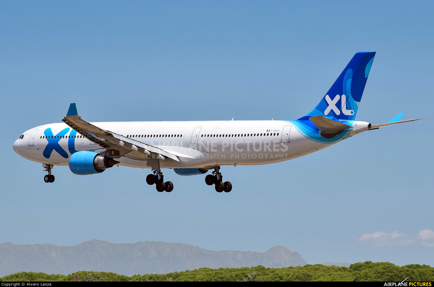XL Airways France F-HXLF aircraft at Madrid - Barajas