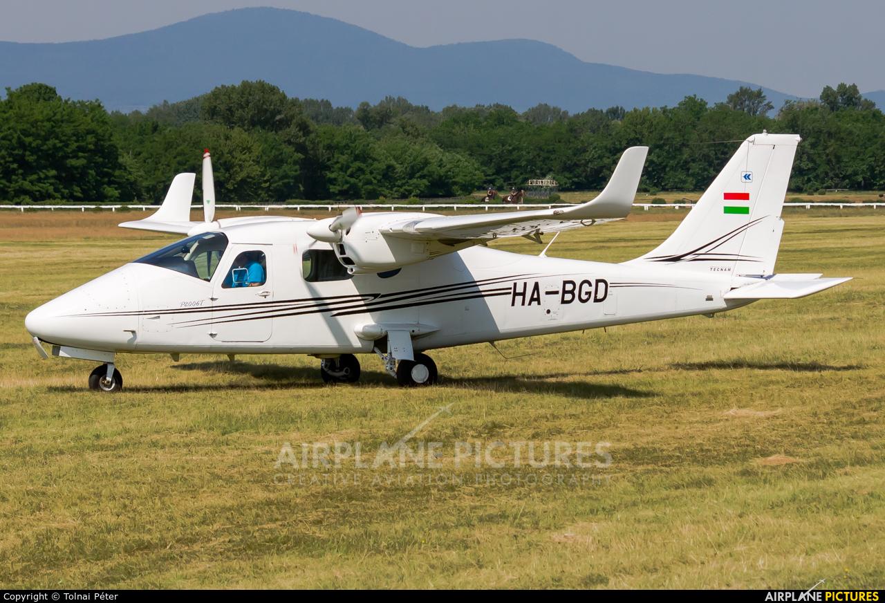 Private HA-BGD aircraft at Dunakeszi