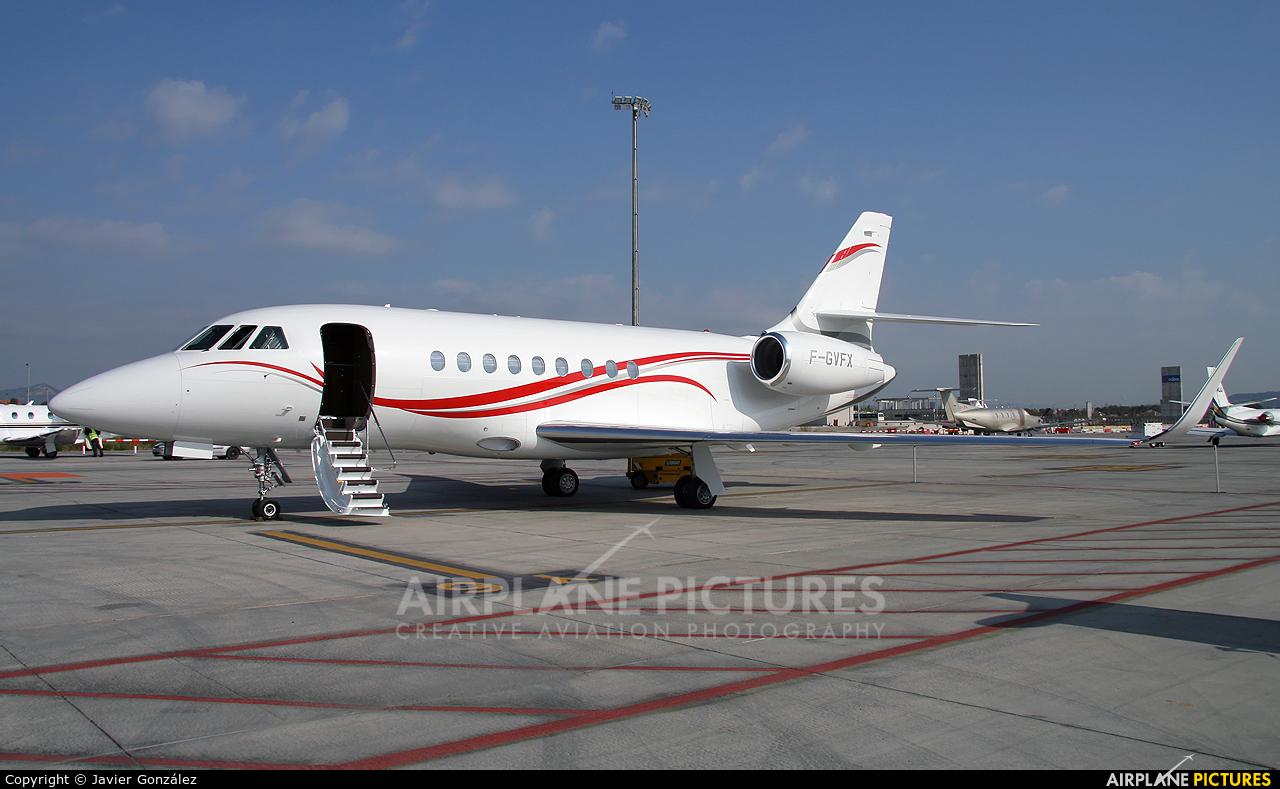 Dassault Aviation F-GVFX aircraft at Barcelona - El Prat