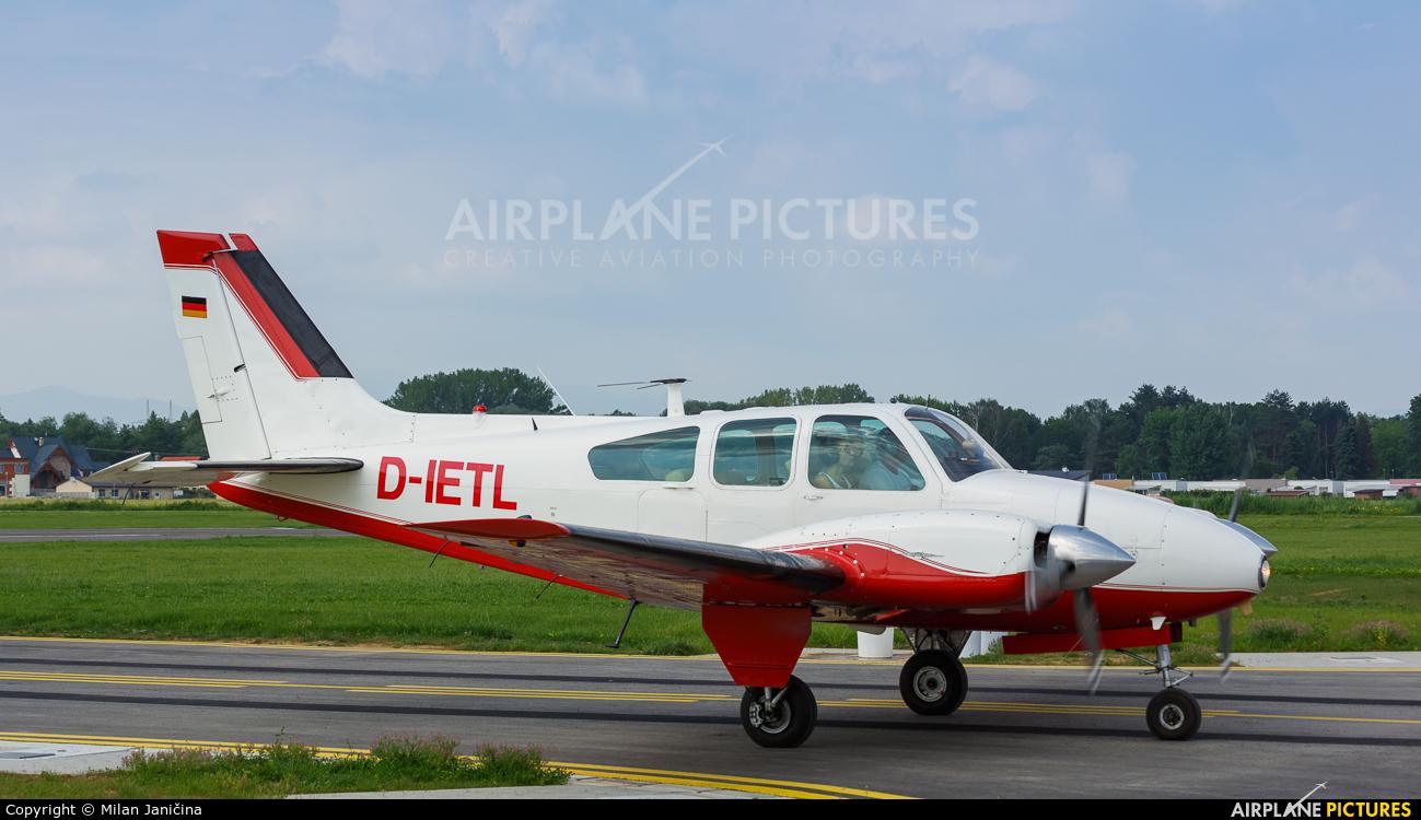 Private D-IETL aircraft at Prievidza
