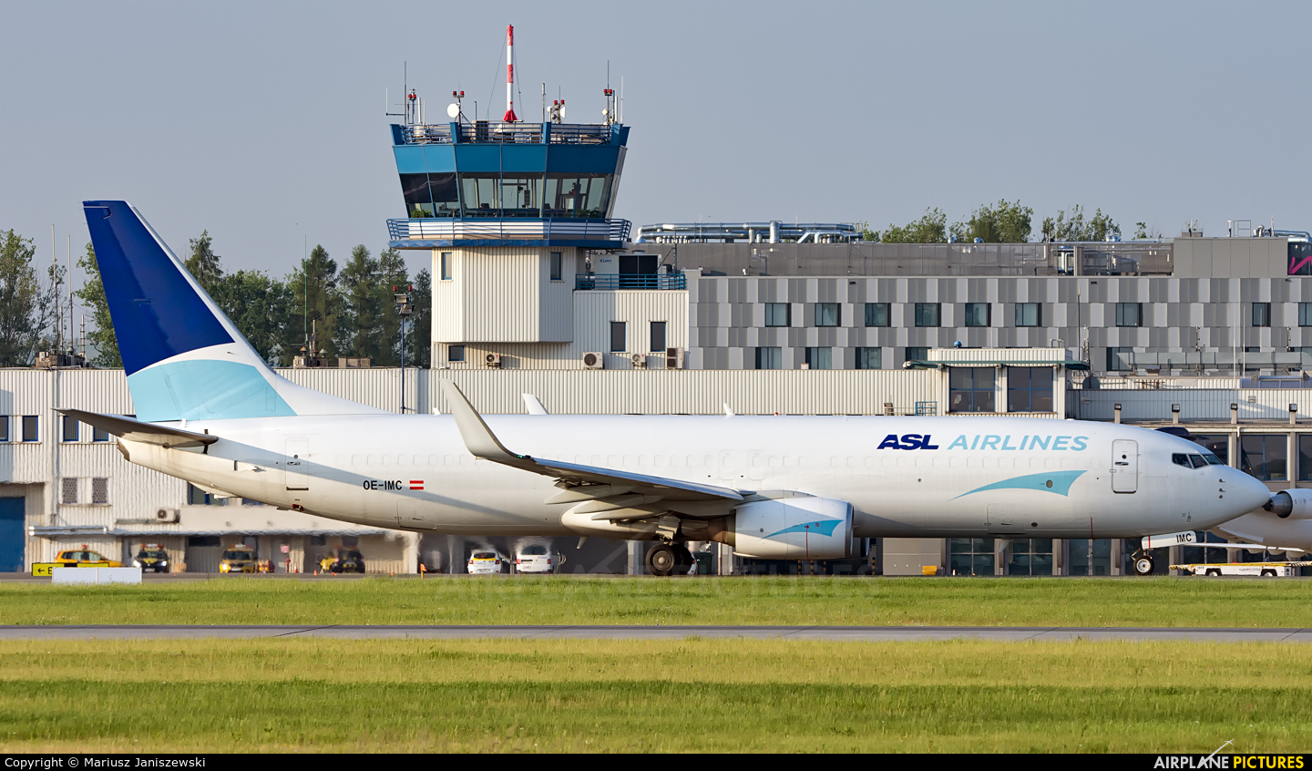 ASL Airlines OE-IMC aircraft at Katowice - Pyrzowice