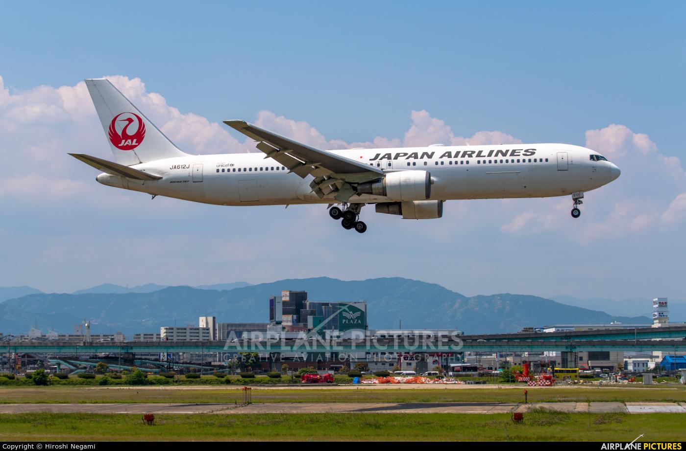 JAL - Japan Airlines JA612J aircraft at Fukuoka