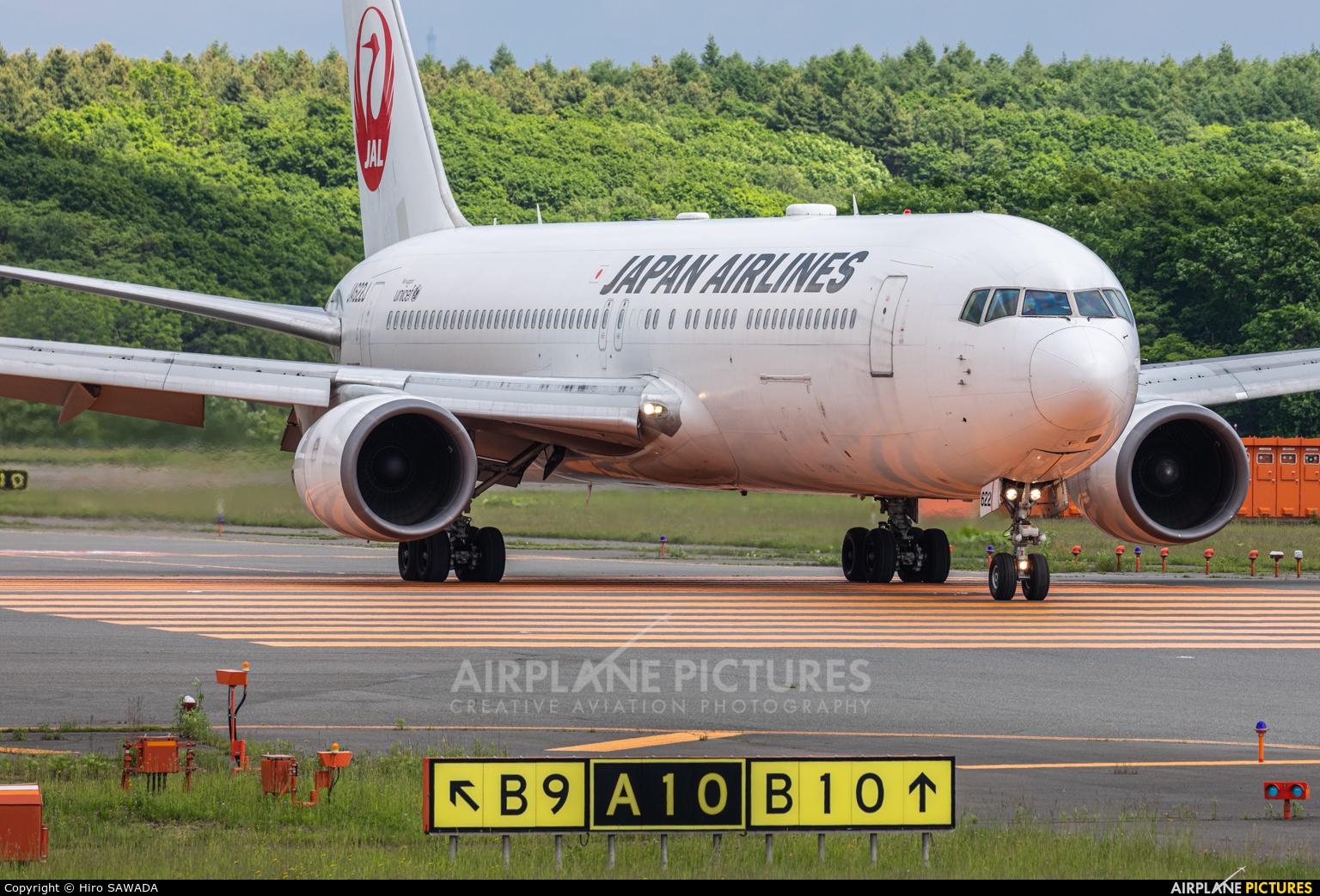 JAL - Japan Airlines JA622J aircraft at New Chitose