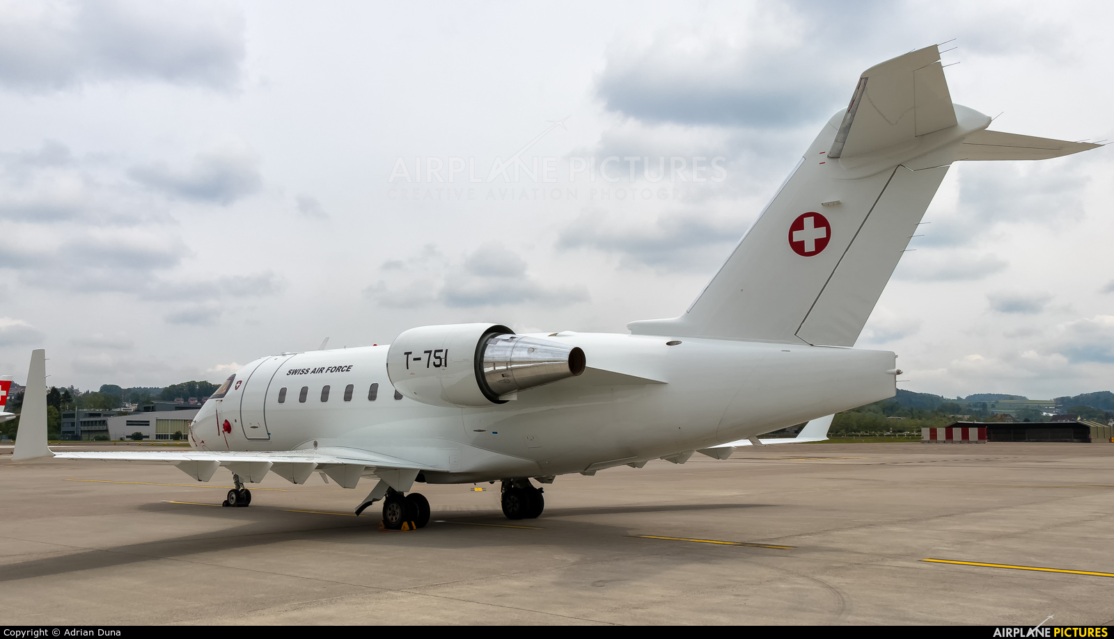 Switzerland - Air Force T-751 aircraft at Zurich