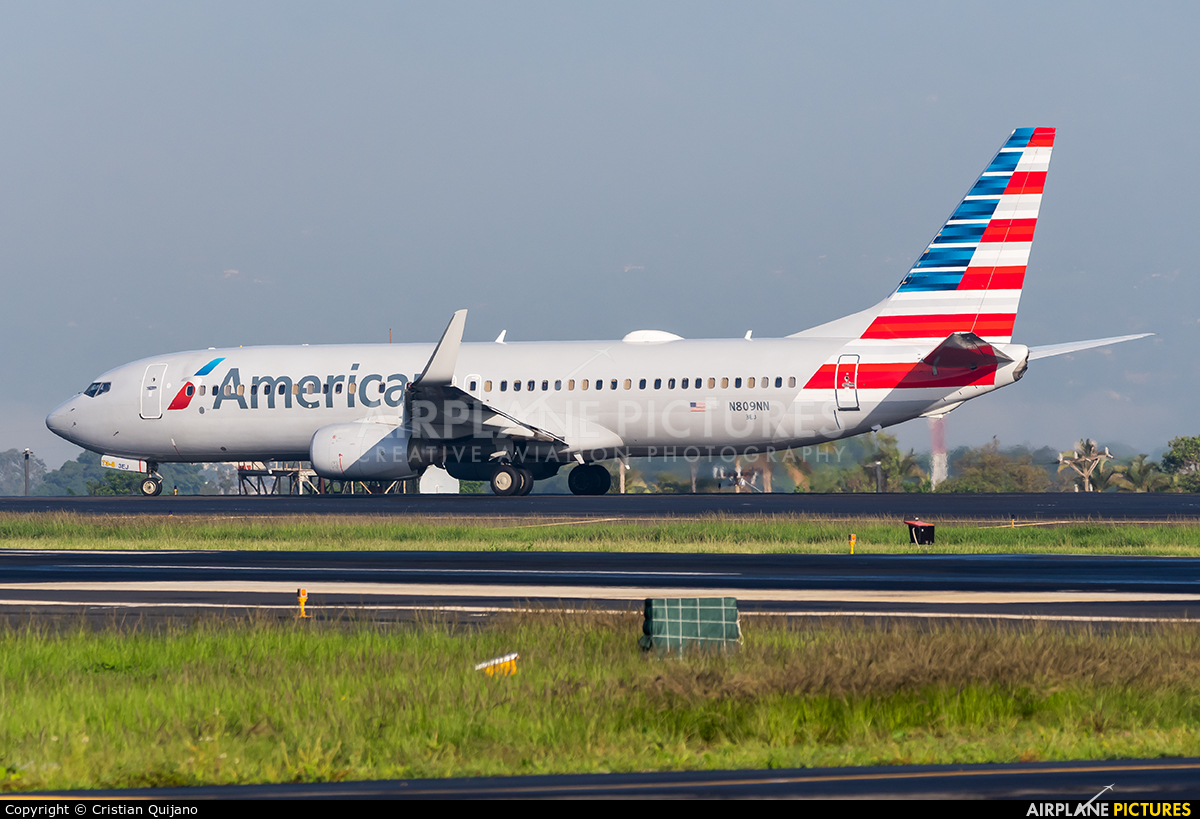 American Airlines N809NN aircraft at San Jose - Juan Santamaría Intl