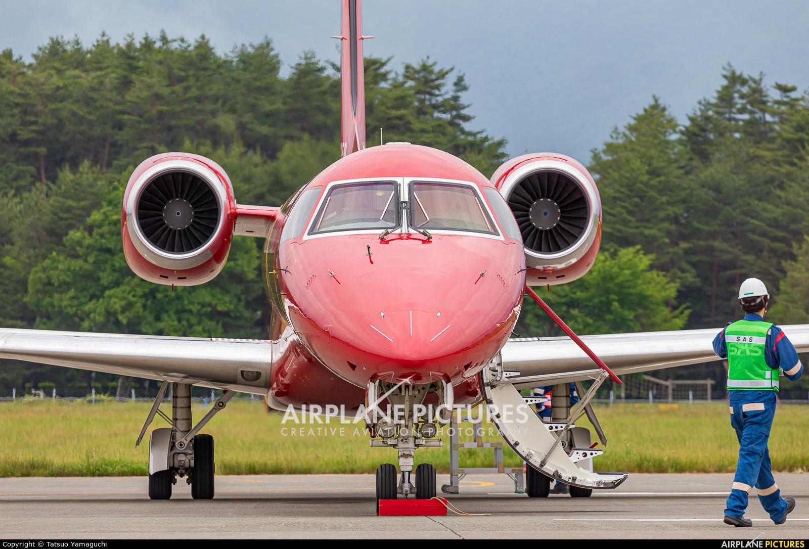 Korea Express HL8358 aircraft at Shinshu - Matsumoto