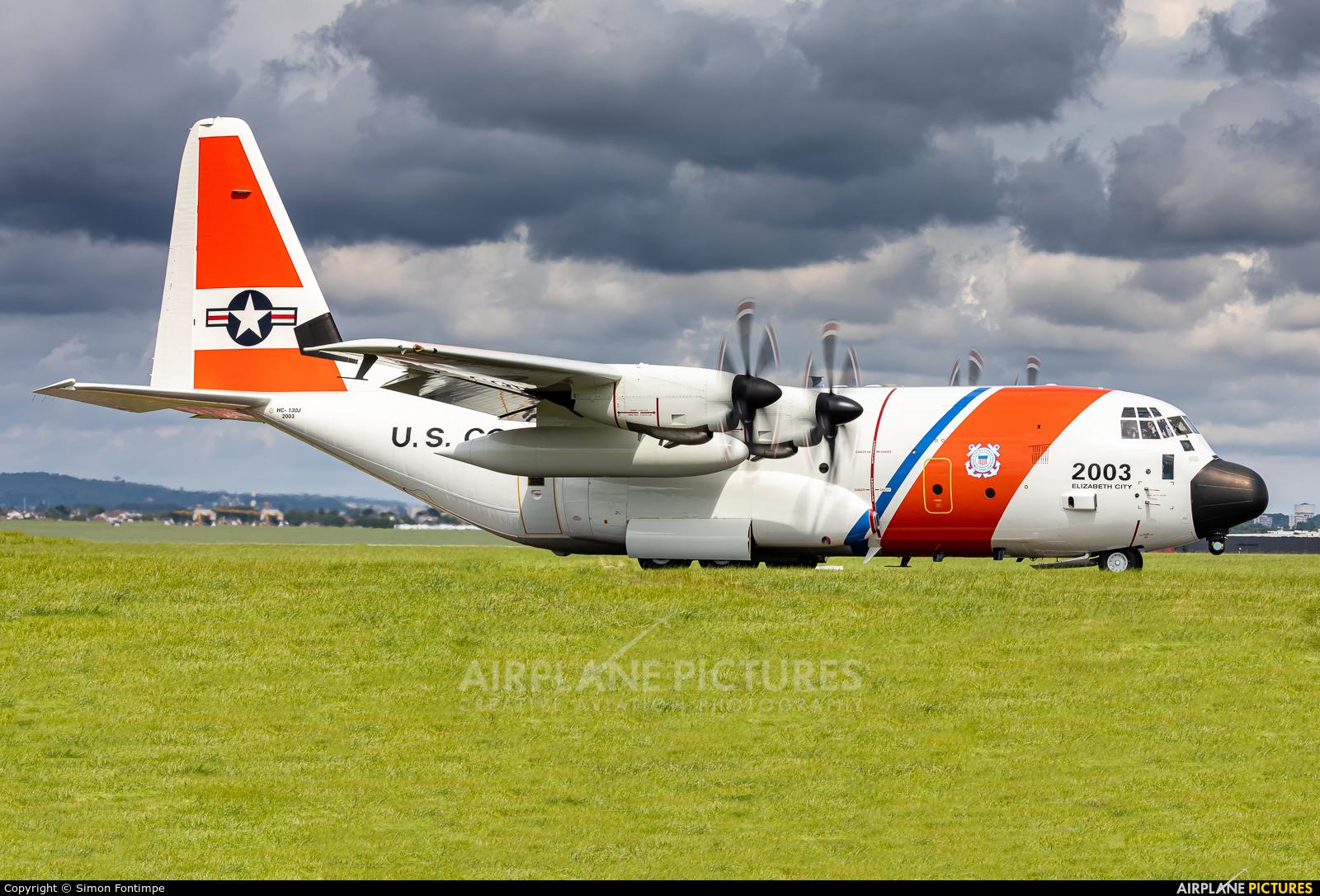 USA - Coast Guard 01-2003 aircraft at Paris - Le Bourget