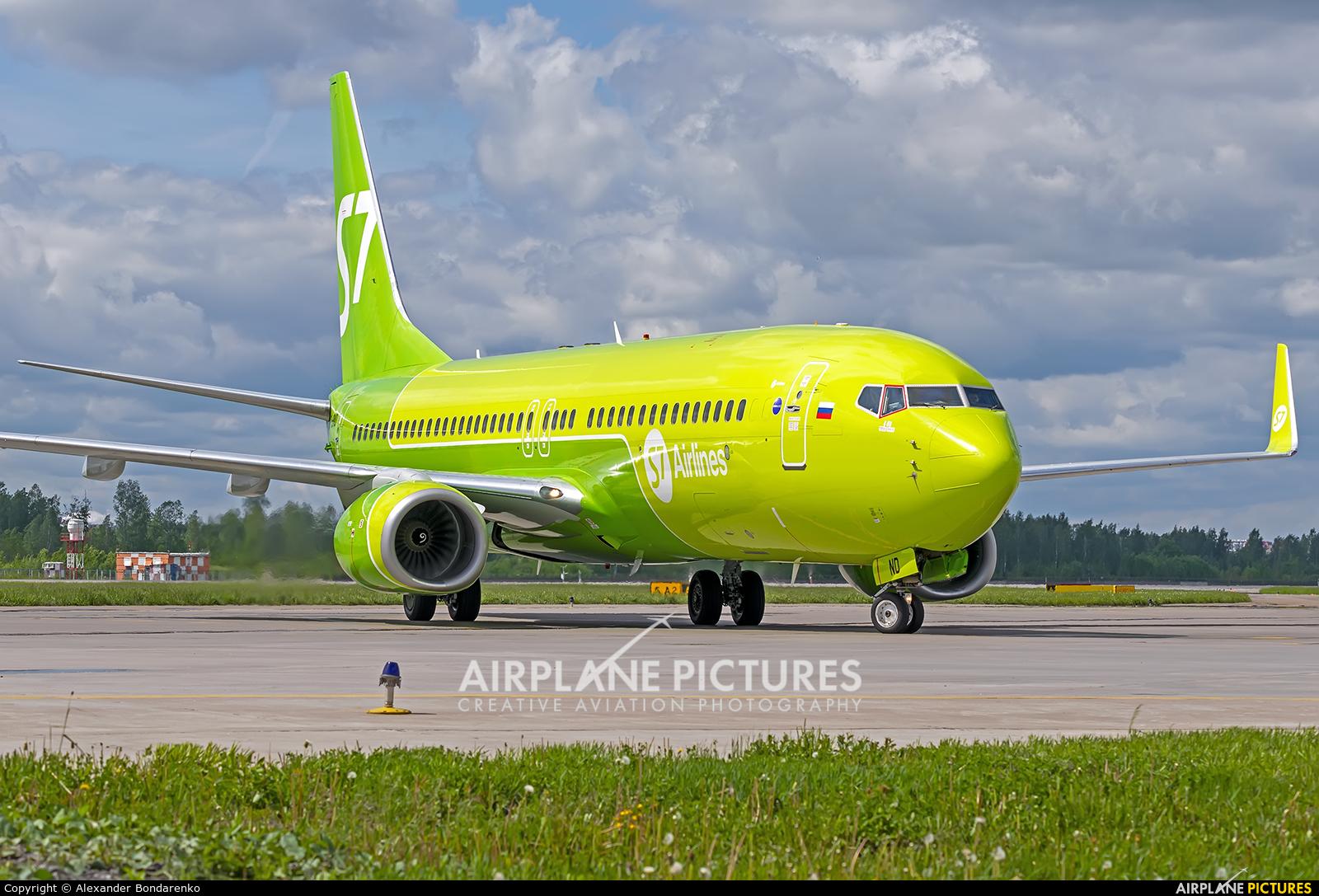 S7 Airlines VP-BND aircraft at St. Petersburg - Pulkovo