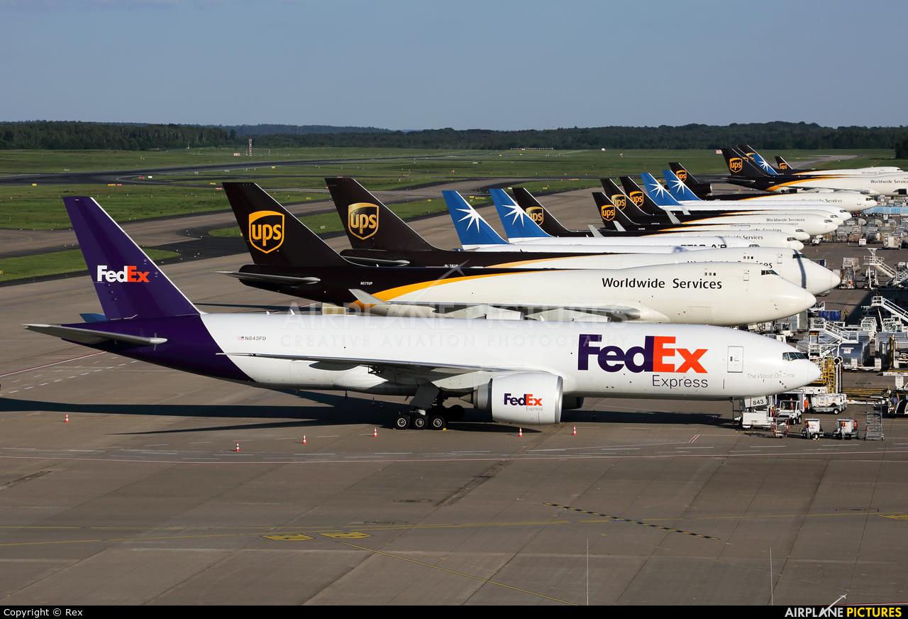 FedEx Federal Express N843FD aircraft at Cologne Bonn - Konrad Adenauer