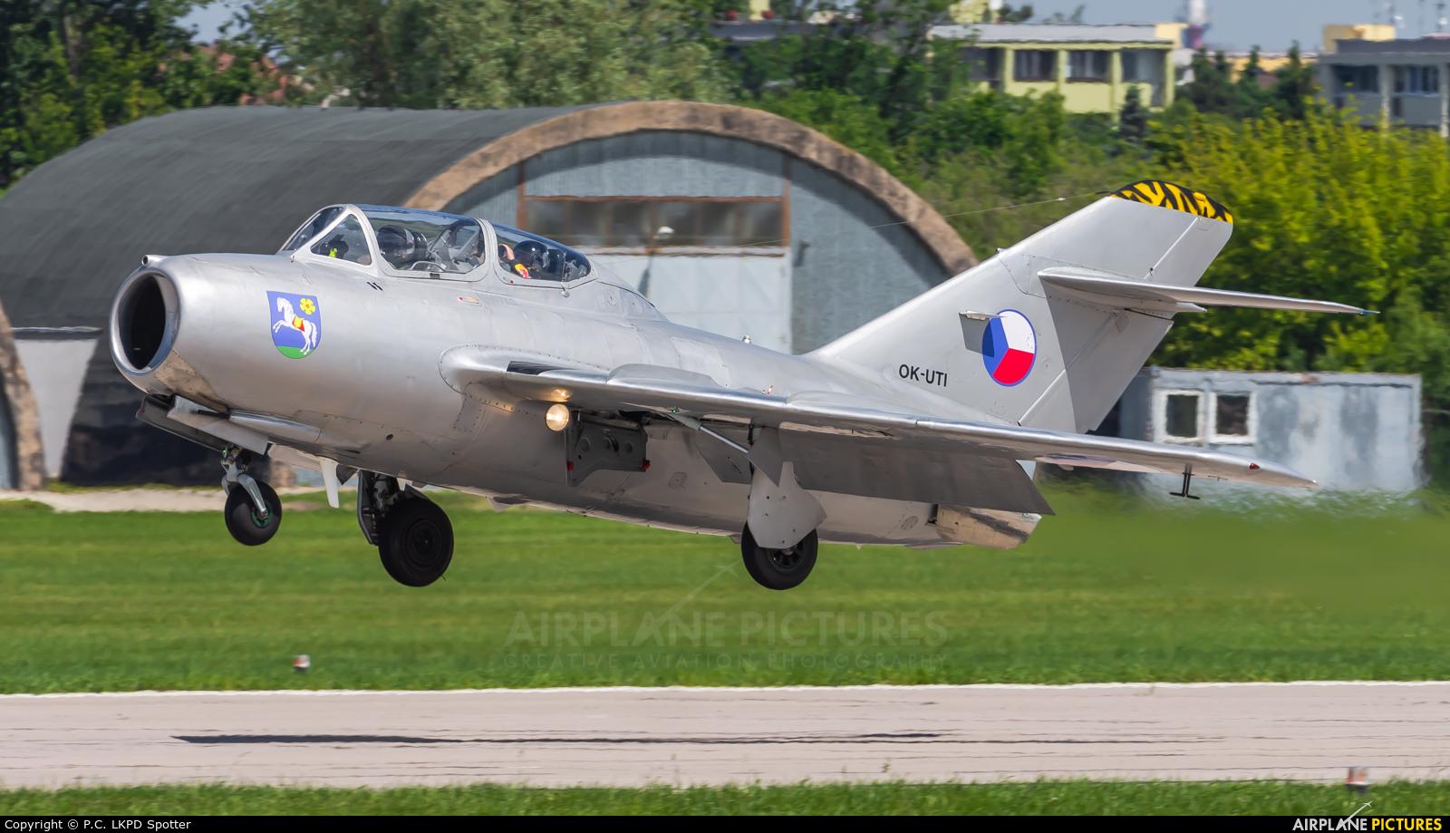 Private OK-UTI aircraft at Pardubice