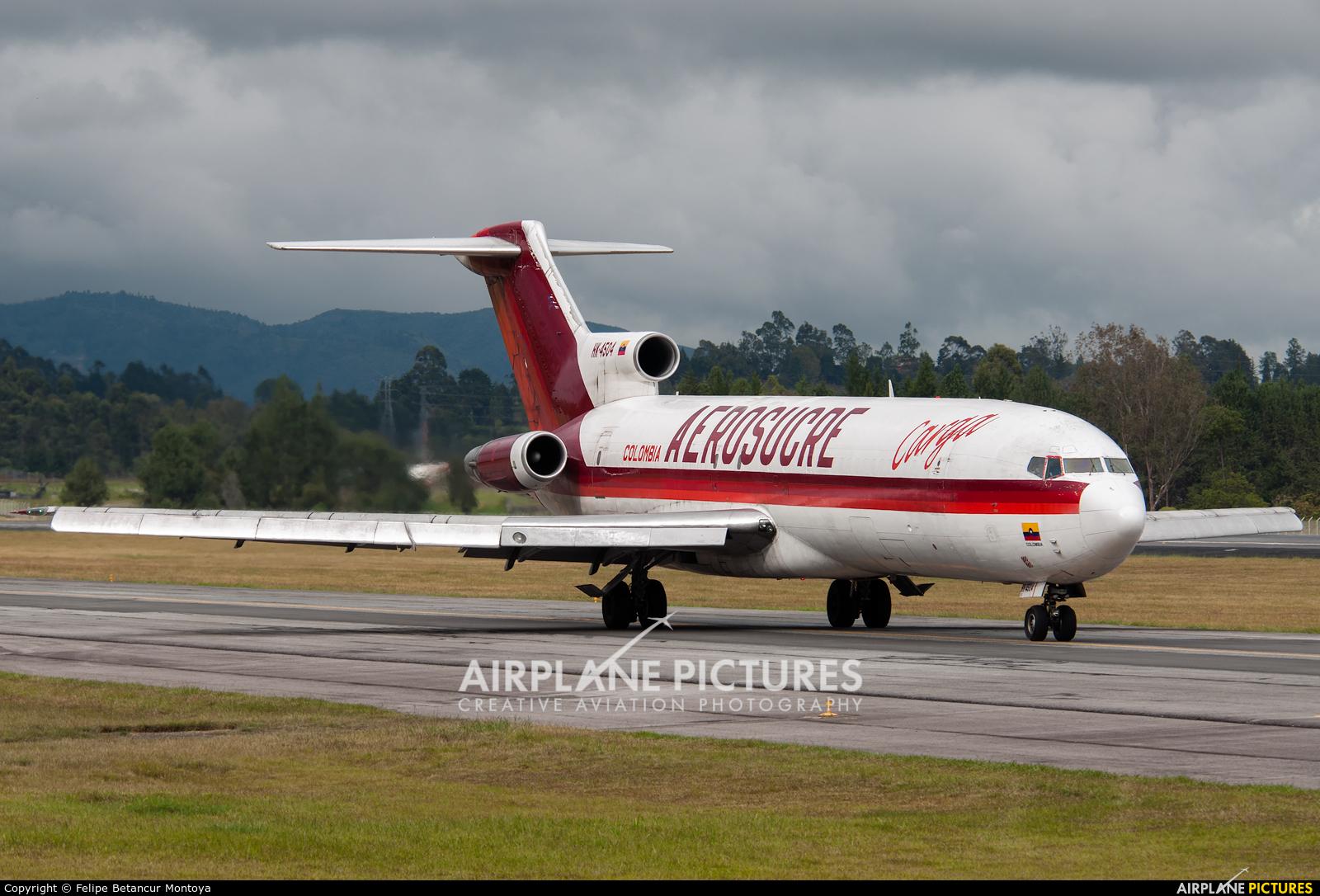 Aerosucre HK-4504 aircraft at Medellin - Jose Maria Cordova Intl