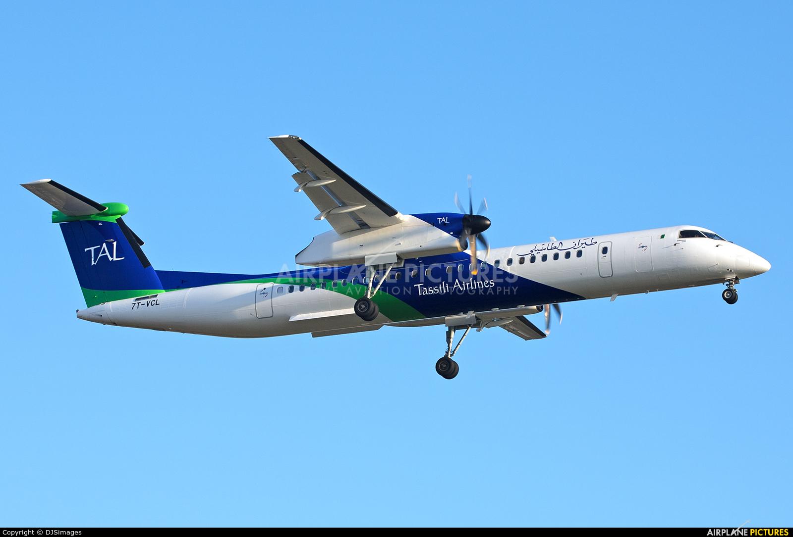 Tassili Airlines 7T-VCL aircraft at Birmingham