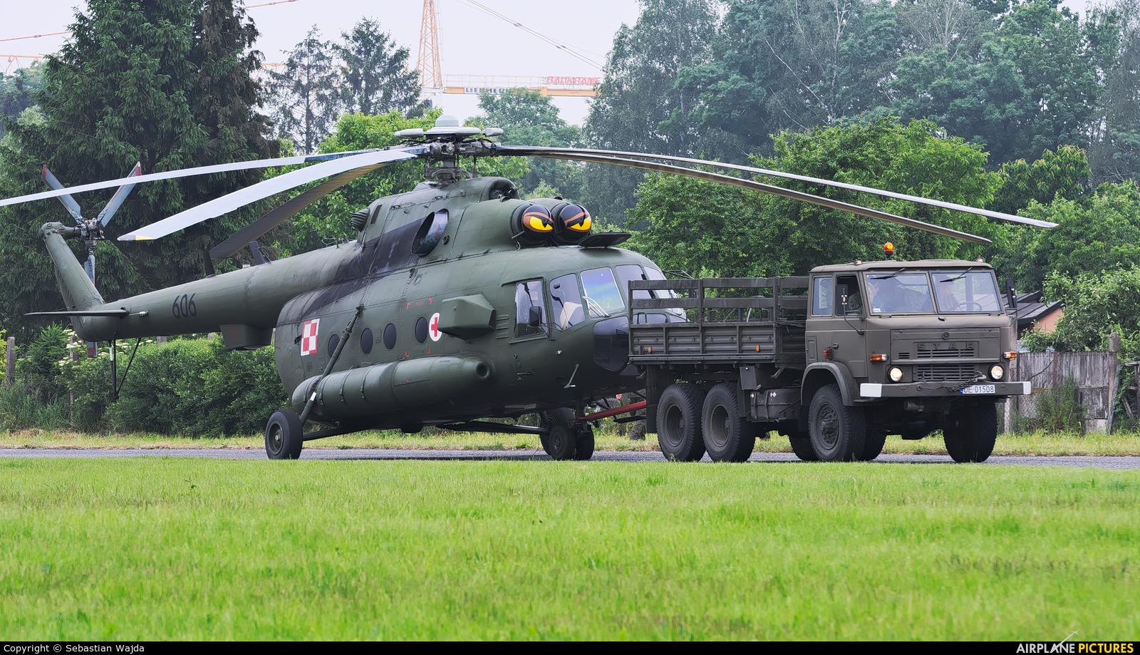Poland - Army 606 aircraft at Pruszcz Gdański