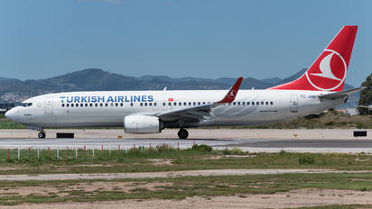 TC-JHR - Turkish Airlines Boeing 737-800