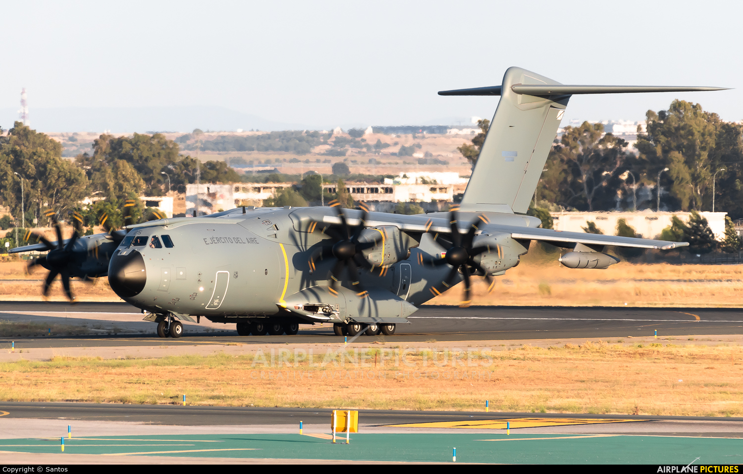 Spain - Air Force TK.23-05 aircraft at Seville - San Pablo