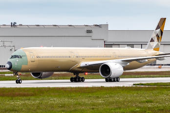 F-WZFD - Etihad Airways Airbus A350-1000
