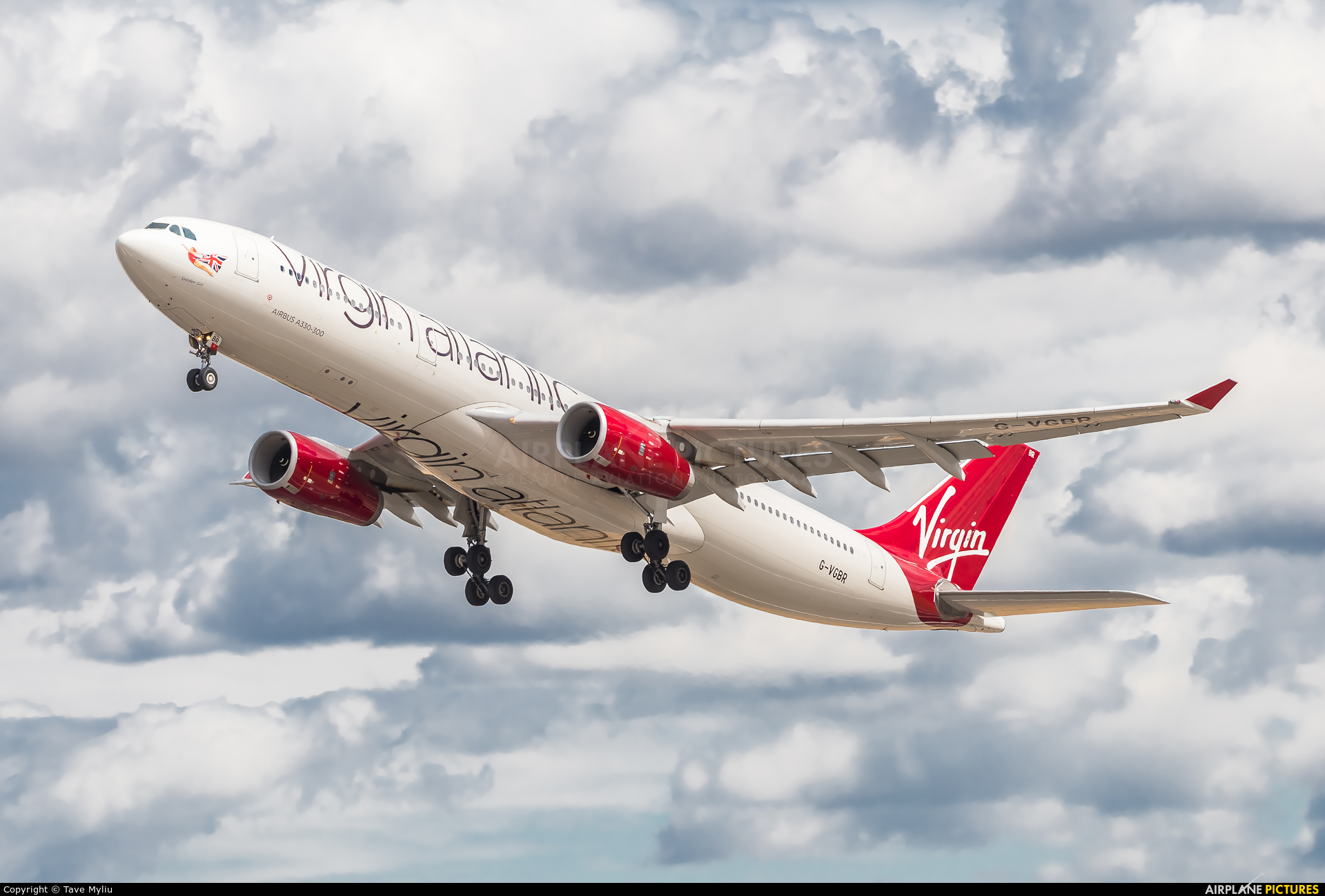 Virgin Atlantic G-VGBR aircraft at London - Heathrow