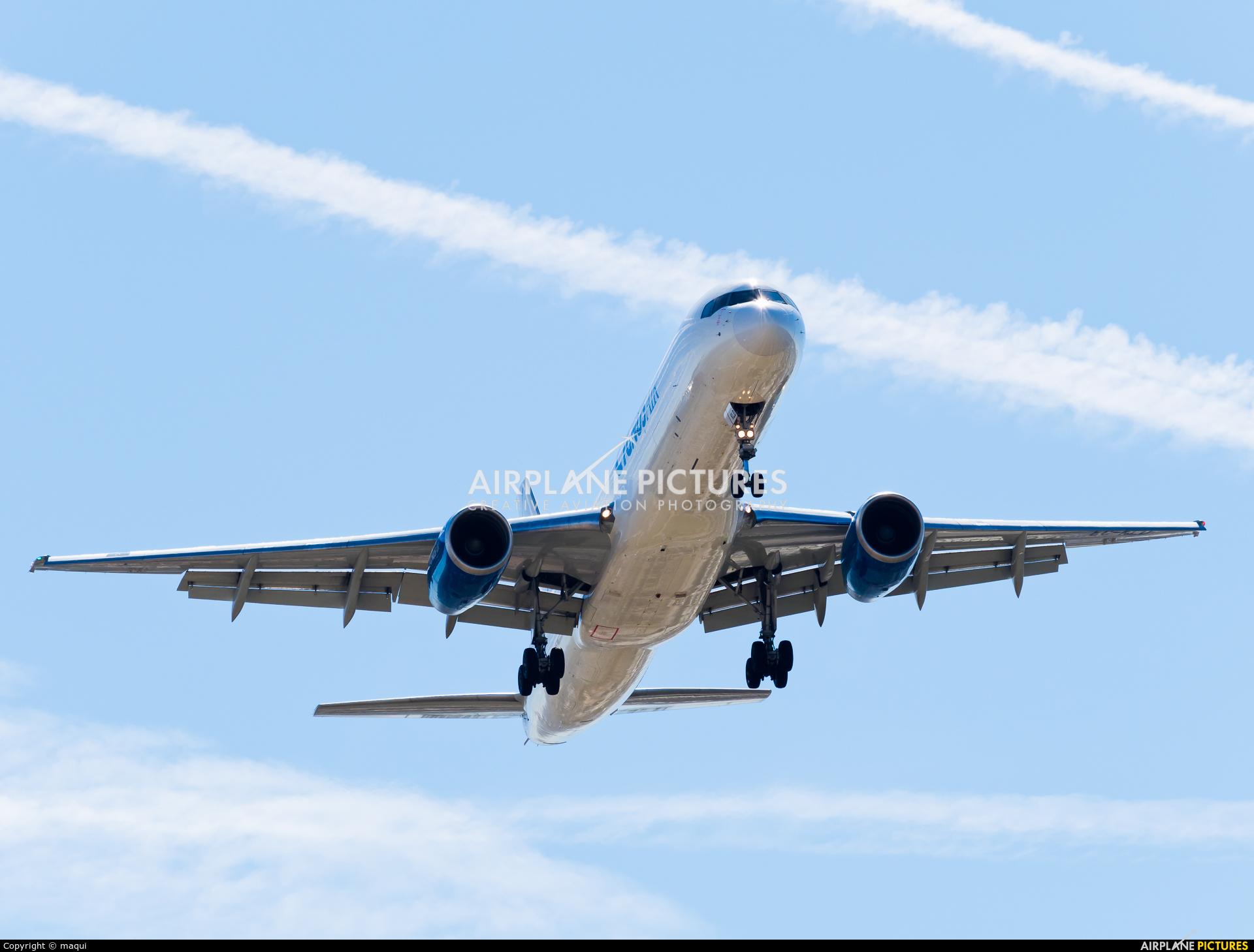Cygnus Air EC-KLD aircraft at Madrid - Barajas
