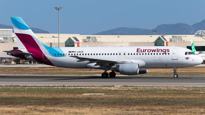 D-ABZE - Eurowings Airbus A320