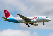 HB-JOH - Chair Airlines Airbus A319 aircraft