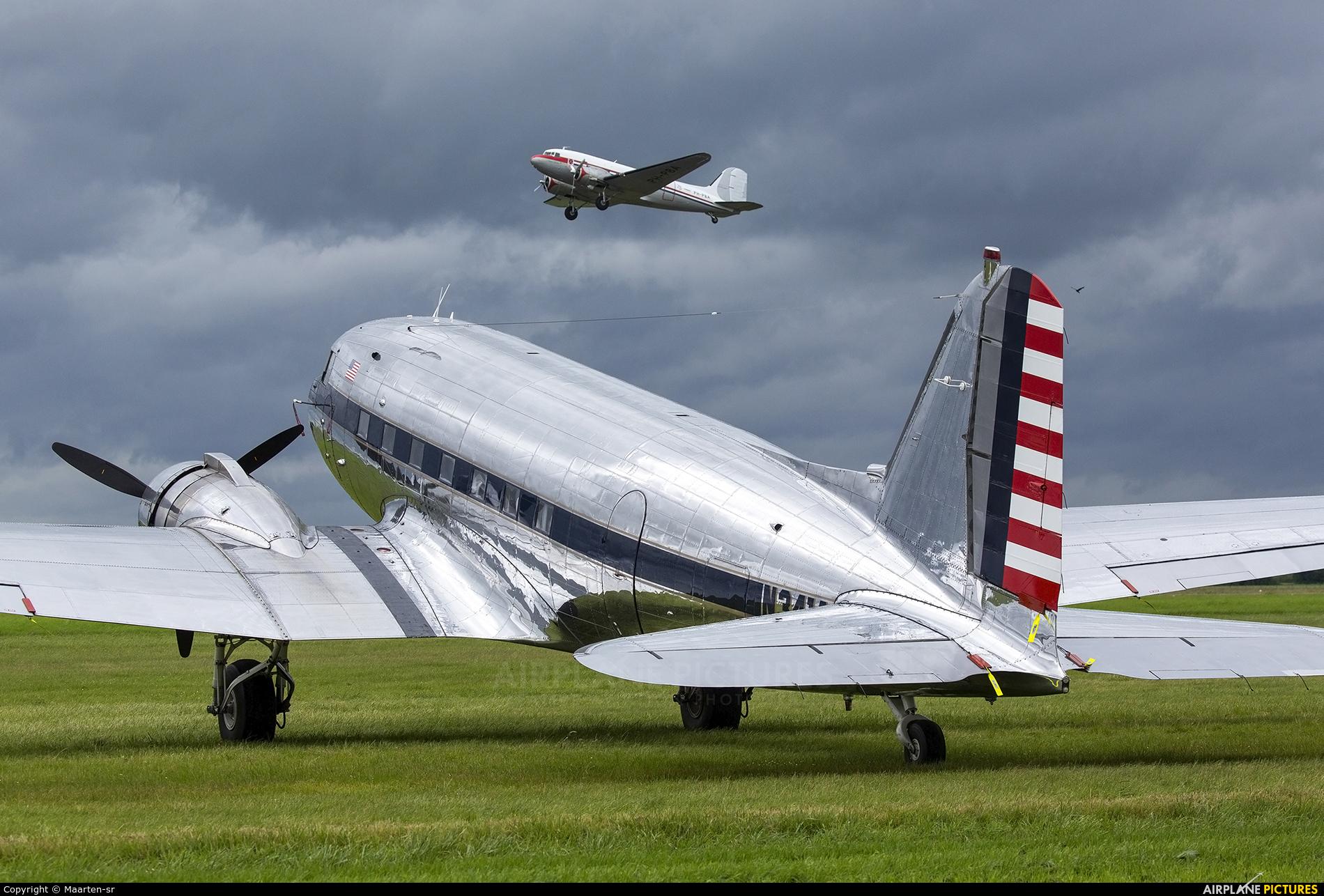 Legend Airways of Colorado N341A aircraft at Caen-Carpiquet