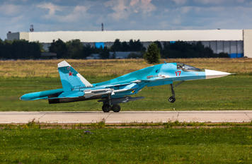 RF-95845 - Russia - Air Force Sukhoi Su-34