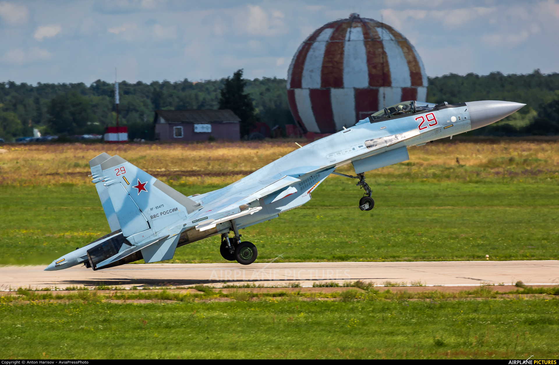 Russia - Air Force RF-95475 aircraft at Ramenskoye - Zhukovsky