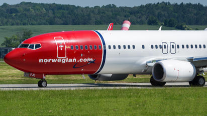 EI-FJL - Norwegian Air International Boeing 737-800