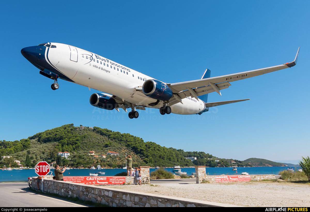 Blue Panorama Airlines EI-CSI aircraft at Skiathos