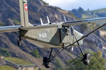V-631 - Switzerland - Air Force Pilatus PC-6 Porter (all models)