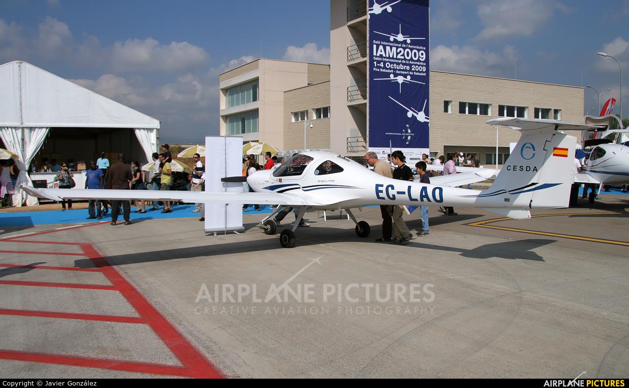 Cesda EC-LAO aircraft at Sabadell