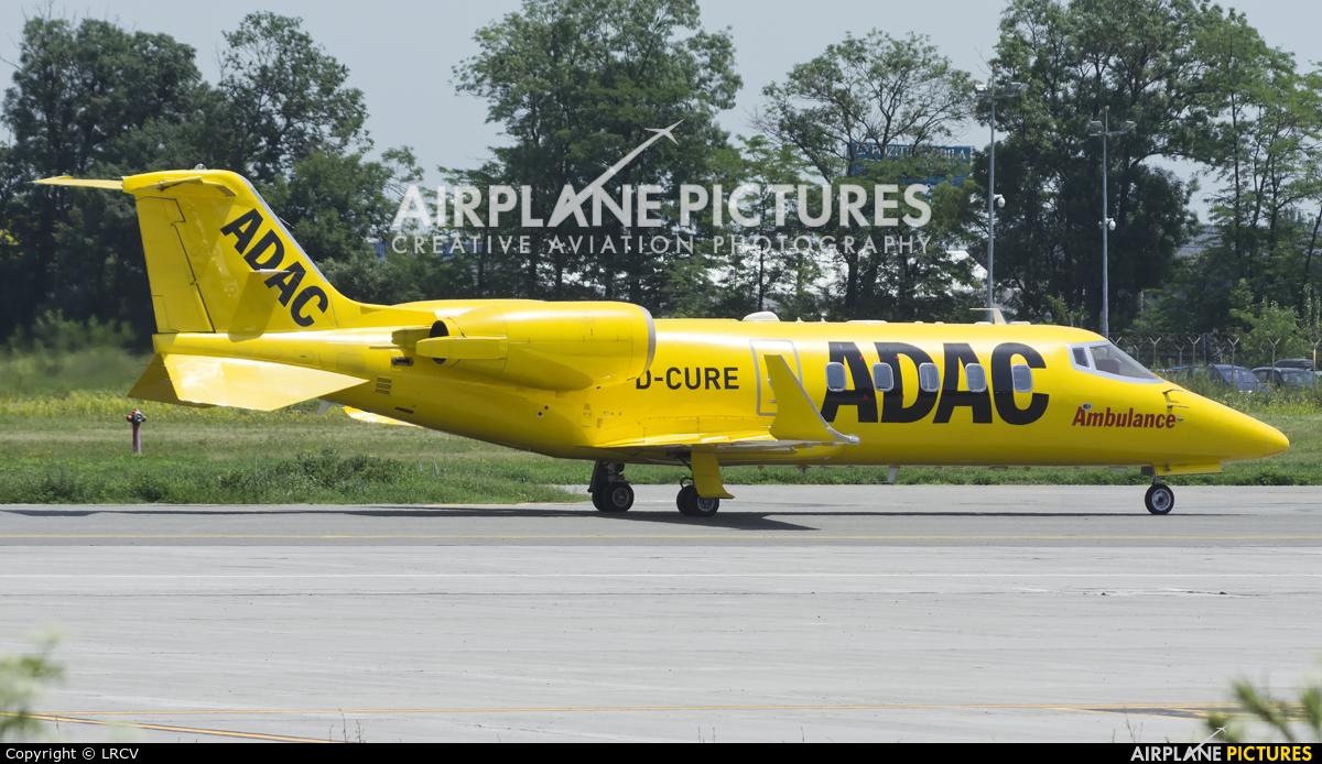 ADAC Luftrettung D-CURE aircraft at Craiova
